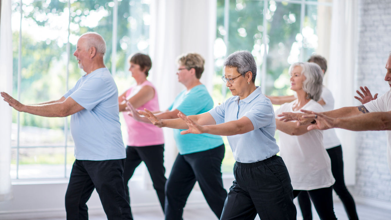 Tai Chi at Yoga Mama Wellness